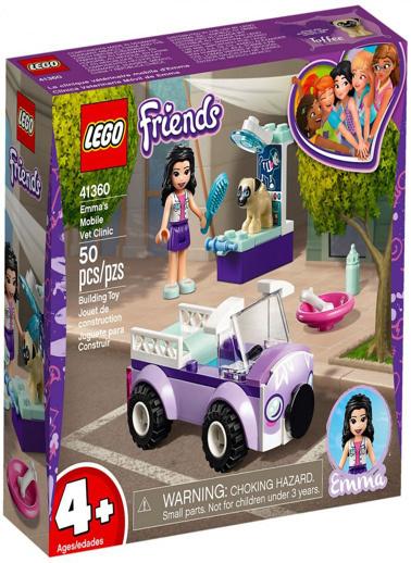 Lego LEGO Friends Emmas M Vet Clinic Renkli